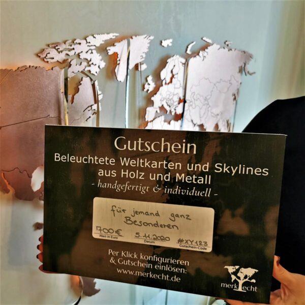 Gutschein – Sofort digital oder auf Holz per Post