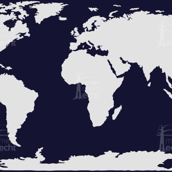Weltkarte Bausatz | DIY Kontinente & Inseln