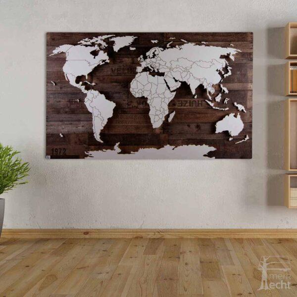 Weltkarte-Amundsen-Vintage-Dekor-Wandbild-Beleuchtet-WeißesKontinente-Holz-Welt-Karte-XXL-WelkartenAusHolz-WeißeKontinente-KontinenteHolz