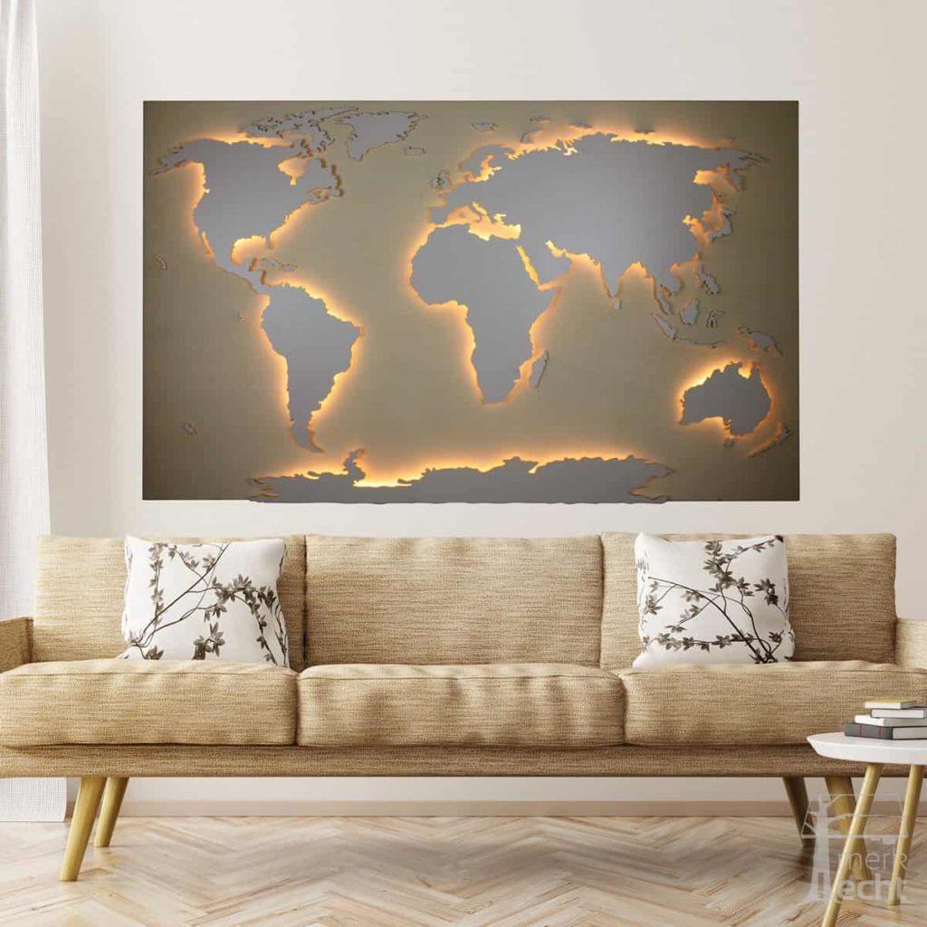 Weltkarte-Pappel-Echtholz-WeltkarteHolz-Wandbild-Beleuchtet-WeißesKontinente-Holz-Welt-Karte-XXL-WelkartenAusHolz-WeißeKontinente-KontinenteHolz