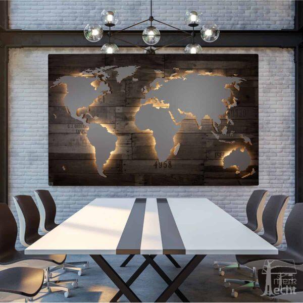 Weltkarte-Vintage-Vespucci-Dekor-WeltkarteHolz-Wandbild-Beleuchtet-WeißesKontinente-Holz-Welt-Karte-XXL-WelkartenAusHolz-WeißeKontinente-KontinenteHolz